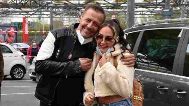 Willi Herren und Tochter Alessia Herren am 16. April 2021. Nur wenige Tage vor seinem tragischen Tod.