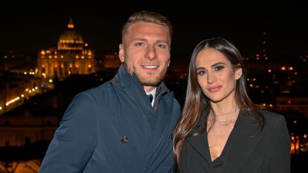 Ciro Immobile und Jessica Melena