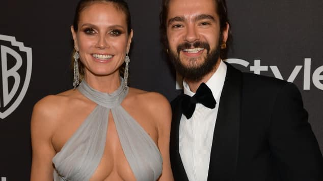 Heidi Klum und Tom Kaulitz bei der Golden Globes Aftershow-Party 2019