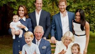 Die britische Königsfamilie veröffentlicht zu Prinz Charles' 70. Geburtstag neue Fotos