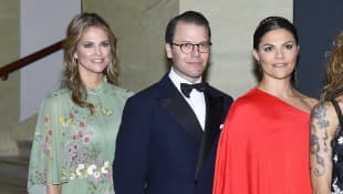 Prinzessin Madeleine, Prinz Daniel und Prinzessin Victoria