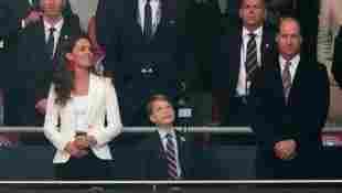 Prinz William Herzogin Kate Prinz George EM 2020