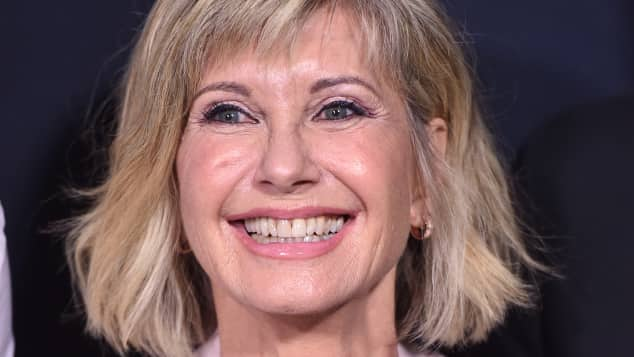 "Olivia Newton John beim ""Samuel Goldwyn Theater"" in Baverly Hills 2018"