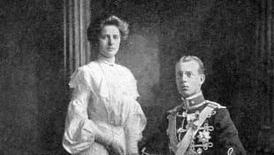 Prinzessin Alice von  Battenberg und Prinz Andreas