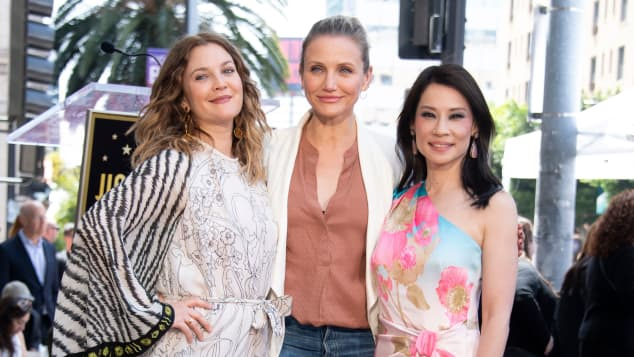 Drew Barrymore, Cameron Diaz und Lucy Liu Mai 2019