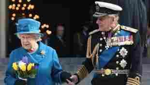 Königin Elisabeth II. und Prinz Philip beim A Service Of Commemoration am 13. März 2015