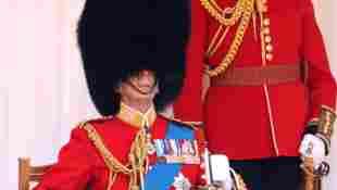 Prinz Edward Herzog von Kent Trooping the Color