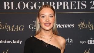 Cheyenne Ochsenknecht beim Deutscher Bloggerpreis 2019