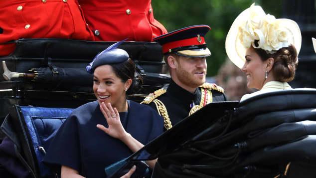 Herzogin Meghan trug bei Trooping The Colour einen neuen Ring