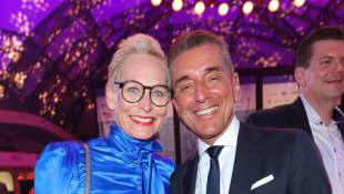 Bärbel Schäfer und Michel Friedman
