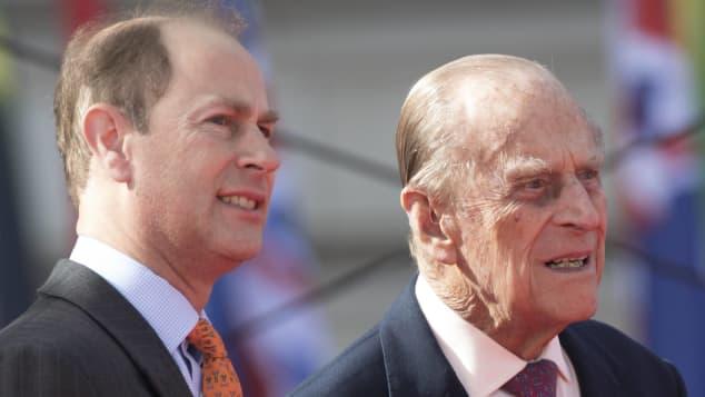 Prinz Edward und Prinz Philip
