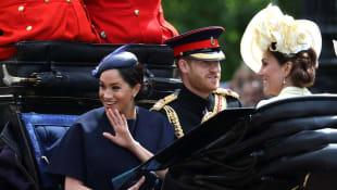 Herzogin Meghan, Prinz Harry und Herzogin Kate