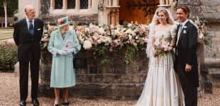 Hochzeitsfoto von Prinzessin Beatrice und Edoardo Mapelli