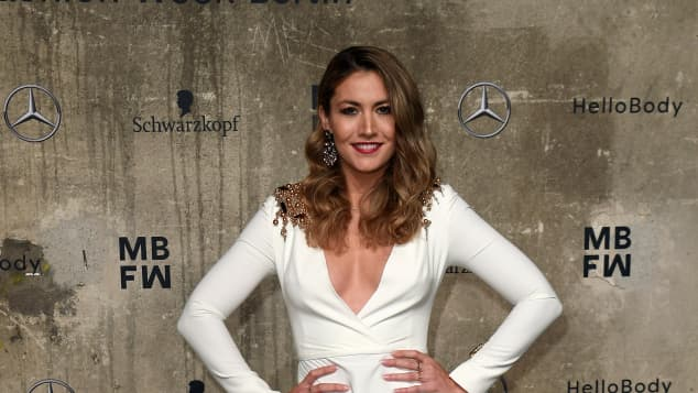 Fiona Erdmann bei der Fashion Ween in Berlin 2020