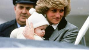 Prinz Harry und Lady Diana