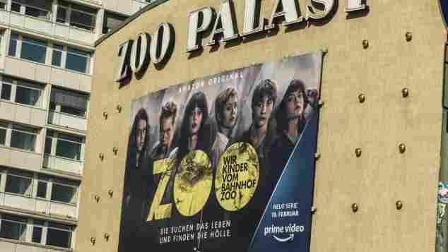 """Plakat zur Serie """"Wir Kinder vom Bahnhof Zoo"""""""