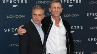 Christoph Waltz und Daniel Craig