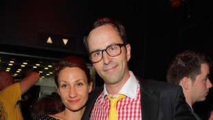 Kurt Krömer und Freundin