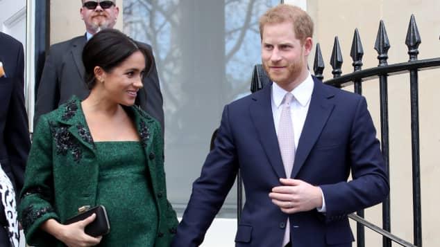 Herzogin Meghan Prinz Harry Baby Geburt Details