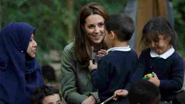 Herzogin Kate, Herzogin Kate Schule, Herzogin Kate Kinder, Herzogin Kate Lernzentrum, Herzogin Kate Babypause, Herzogin Kate erster öffentlicher Auftritt