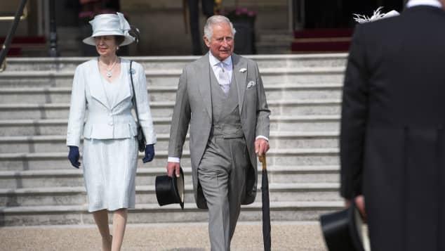 Prinzessin Anne und Prinz Charles