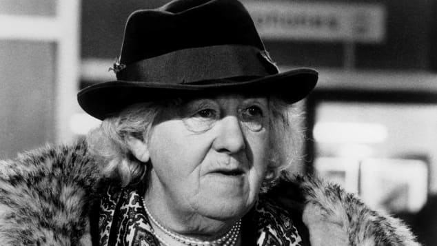 """Margaret Rutherford spielte die legendäre Rolle der """"Miss Marple"""""""