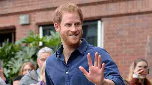 Prinz Harry bei seinem Besuch in Nottingham am 26. Oktober 2016