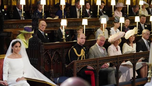 Meghan Markle, Prinz Harry und Meghan Markle Hochzeit, Prinz William bei der Hochzeit, Prinz William freier Platz
