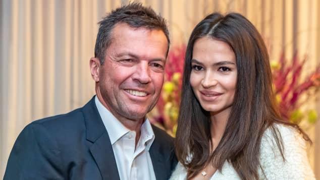 Lothar Matthäus und Anastasia
