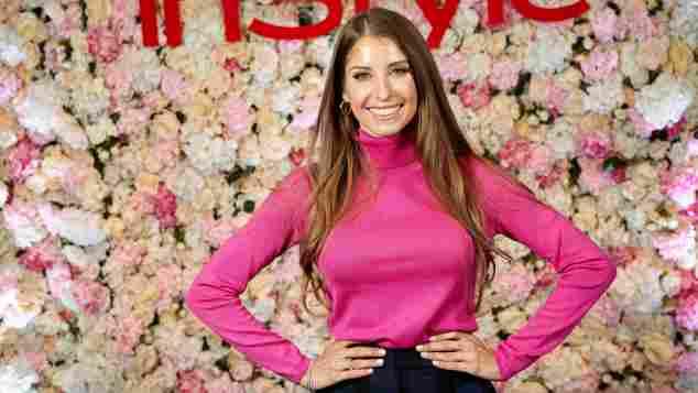 Cathy Hummels bei der InStyle Lounge Januar 2020 im Cafe Moskau in Berlin während der Fashion Week Winter 2020