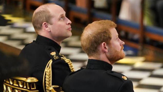 Prinz William Prinz Harry Glatze Haarausfall