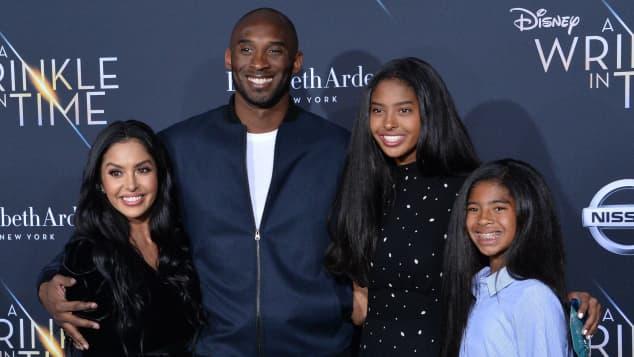 Kobe Bryant Frau und Kinder
