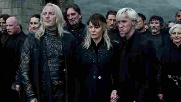 """Harry Potter und die Heiligtümer des Todes – Teil 2"": Jason Isaacs, Helen McCrory, Tom Felton"