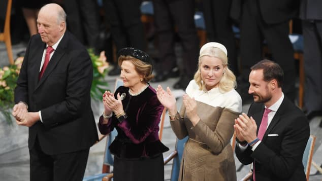 König Harald, Königin Sonja, Prinzessin Mette-Marit, Prinz Haakon
