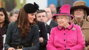 Herzogin Kate und Queen Elizabeth