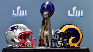 Super Bowl 2019 New England Patriots Los Angeles Rams