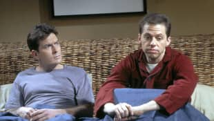 """""""Two and a Half Men"""": Charlie Sheen und Jon Cryer"""