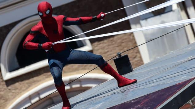 """Tom Holland als """"Spider-Man"""""""