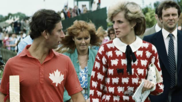 Prinz Charles und Lady Diana bei einem Polo-Turnier 1983