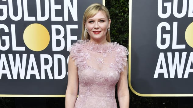 Kirsten Dunst bei den 77th Annual Golden Globe Awards im The Beverly Hilton Hotel am 5. Januar 2020