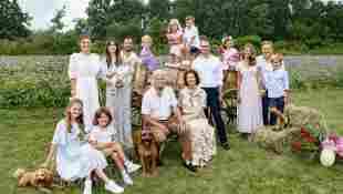 Die schwedische Königsfamilie wiedervereint