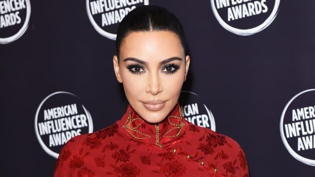 Kim Kardashian Reality TV Influencer