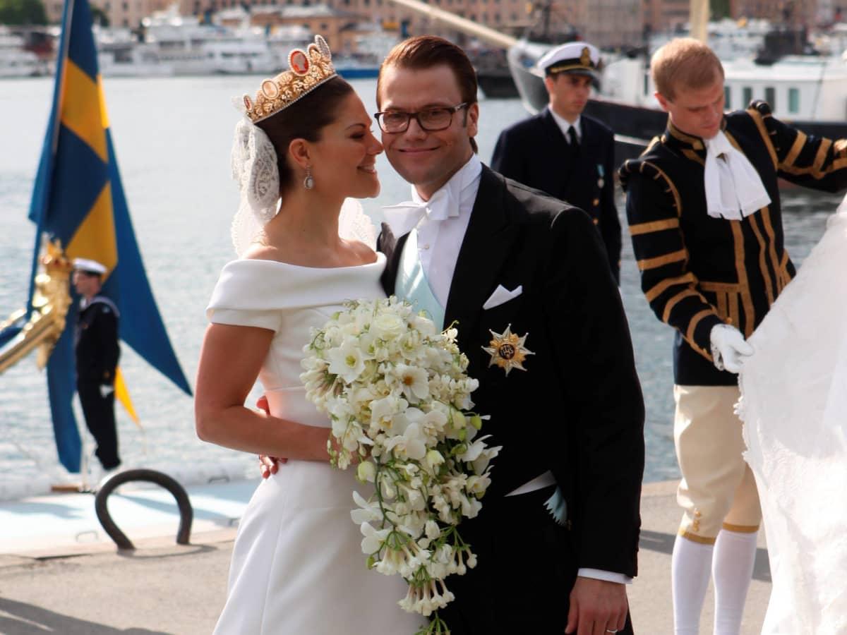 So sah Prinzessin Victoria bei ihrer Hochzeit aus