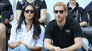 Herzogin Meghan und Prinz Harry Invictus GAmes 2017