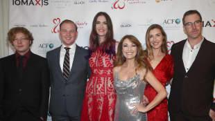John Stacy Keach, Kristopher Steven Keach, Jennifer Flynn, Jane Seymour, Katherine Flynn und Sean Flynn