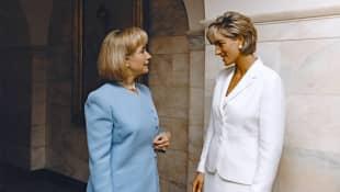 Hillary Clinton und Lady Diana