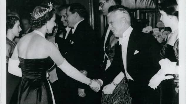queen charlie chaplin
