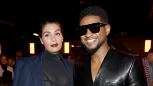 Jenn Goicoechea und Usher