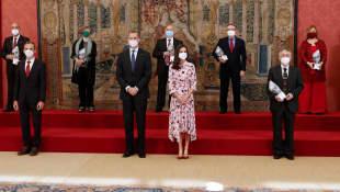 König Felipe und Königin Letizia von Spanien