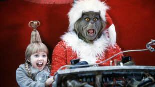 """Taylor Momsen und Jim Carrey in """"Der Grinch"""""""